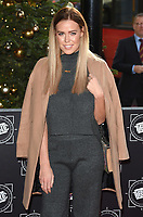 Chloe Meadows<br /> arriving for the TRIC Christmas Party, Grosvenor House Hotel, London.<br /> <br /> <br /> &copy;Ash Knotek  D3362  12/12/2017