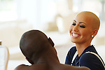 MIAMI BEACH, FL - JUNE 17: Amber Rose at a Cover photo Shoot for Hip-Hop Weekly at the Grand Beach Hotel on June 17, 2010 in Miami Beach, Florida.  (Photo by Johnny Louis/jlnphotography.com)