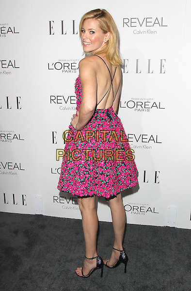20 October  2014 - Beverly Hills, California - Elizabeth Banks. 2014 ELLE Women In Hollywood Awards held at the Four Seasons Hotel.  <br /> CAP/ADM/FS<br /> &copy;Faye Sadou/AdMedia/Capital Pictures