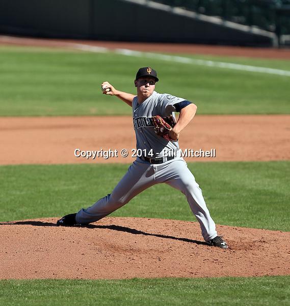 Matt Anderson - Surprise Saguaros - 2014 Arizona Fall League (Bill Mitchell)