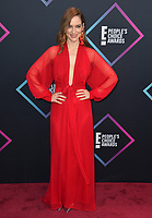 LOS ANGELES, CA. November 11, 2018: Melanie Scrofano at the E! People's Choice Awards 2018 at Barker Hangar, Santa Monica Airport.<br /> Picture: Paul Smith/Featureflash