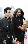 "OLTL Robert Gorrie ""Matthew Buchanan"" & Laura Harrier ""Destiny"" - Welcome Back Rally to mark the returns of former ABC soap opera One Life To Live and All My Children. Due to overwhelming fan demand, both long-running dramas are being re-launched by producer Prospect Online Network (TOLN). The rally is in front of the Connecticut Film Center in Stamford, CT where the shows are now being produced on March 18, 2013 to coincide with OLTL's first tape date. (Photo by Sue Coflin/Max Photos)"