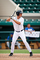 Detroit Tigers Colby Bortles (45) at bat during an Instructional League game against the Toronto Blue Jays on October 12, 2017 at Joker Marchant Stadium in Lakeland, Florida.  (Mike Janes/Four Seam Images)