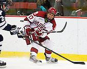 Greg Gozzo (Harvard - 17) - The Yale University Bulldogs defeated the Harvard University Crimson 5-1 on Saturday, November 3, 2012, at Bright Hockey Center in Boston, Massachusetts.