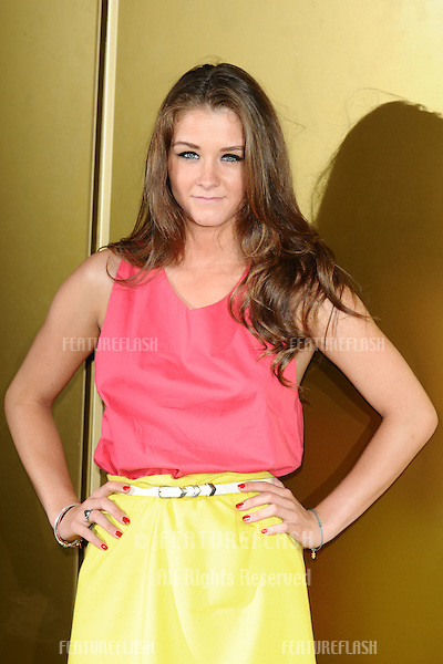 "Brooke Vincent arriving for the ""Magic Mike"" premiere at the Mayfair Hotel, London. 10/07/2012 Picture by: Steve Vas / Featureflash"