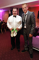 Pictured: Garry Monk. Wednesday 10 April 2013<br /> Re: Swansea footballer Angel Rangel and wife Nicky's cancer charity fundraising dinner at the Liberty Stadium.