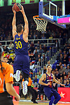 League ACB-ENDESA 2017/2018 - Game: 27.<br /> FC Barcelona Lassa vs Real Betis Energia Plus: 121-56.<br /> Victor Claver.