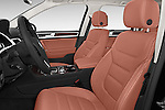 Front seat view of a 2015 Volkswagen Touareg Executive 5 Door Sport Utility Vehicle Front Seat car photos