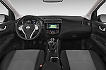 Stock photo of straight dashboard view of a 2015 Nissan Pulser Acenta 5 Door Hatchback 2WD Dashboard