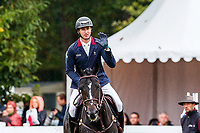FRA-Thomas Carlile rides Dartagnan de Beliard during the Showjumping for the CCI2*-L6YO. Final-2nd. 2019 FRA-Mondial du Lion - FEI World Breeding Championships. Le Lion d'Angers. France. Sunday 20 October. Copyright Photo: Libby Law Photography
