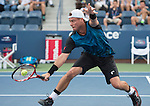 Lleyton Hewitt (AUS) loses the first set to Bernard Tomic (AUS) 6-3
