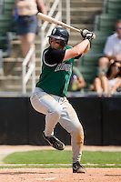 Augusta first baseman Matthew Weston (19) at bat versus Kannapolis at Fieldcrest Cannon Stadium in Kannapolis, NC, Monday, September 3, 2007.