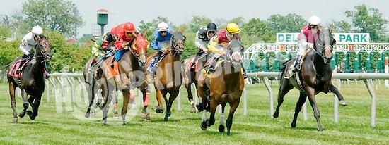 Unbroken winning at Delaware Park on 7/11/12