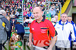 Linesman Mike Hennessy at the County Senior Final at Austin Stack Park Tralee on Sunday.