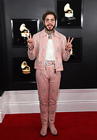 Post Malone arrives at the 61st annual Grammy Awards at the Staples Center on Sunday, Feb. 10, 2019, in Los Angeles. (Photo by Jordan Strauss/Invision/AP)