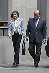 Queen Letizia of Spain arrives to the Spanish Association Against Cancer (AECC) working meeting in Madrid, Spain. May 04, 2015. (ALTERPHOTOS/Victor Blanco)