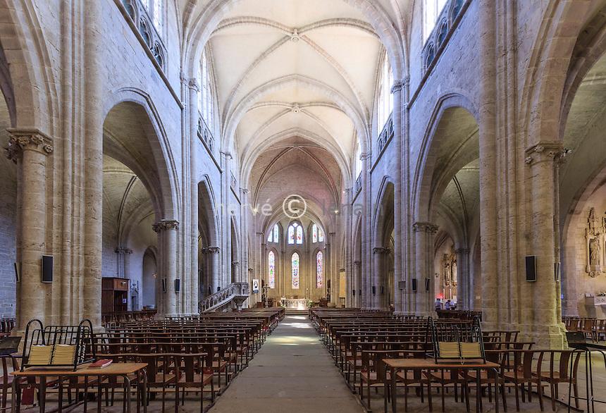 France, Loire (42), Montbrison, collégiale Notre-Dame-d'Espérance // France, Loire, Montbrison, Notre Dame d'Esperance church