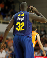 FC Barcelona Regal's Nathan Jawai during Liga Endesa ACB match.November 18,2012. (ALTERPHOTOS/Acero) NortePhoto