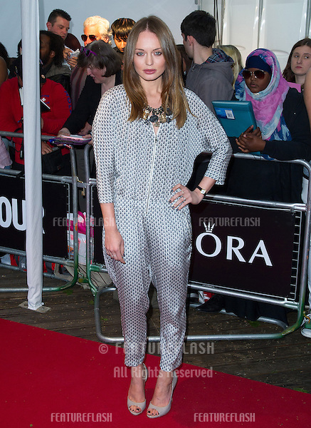 Laura Haddock arriving for the 013 Glamour Awards, Berkeley Square, London. 04/06/2013 Picture by: Alexandra Glen / Featureflash