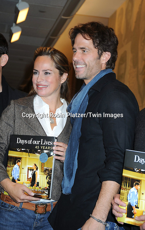 "Crystal Chappell and Shawn Christian at the book signing for""Days of Our Lives 45 Years :A Celebration in Photos"" at Barnes & Nobles, Lincoln Triangle in New York City on December 7, 2010..photo by Robin Platzer/ Twin Images"