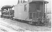 RGS caboose #0400 in a yard.<br /> RGS