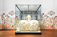Nederland Amsterdam  2016 03 13.  Het Rijksmuseum. Tentoonstelling Catwalk. Foto Berlinda van Dam / Hollandse Hoogte