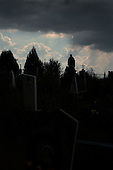 Otradniy, Ukraine.July 26, 2005 ..Village cemetery......