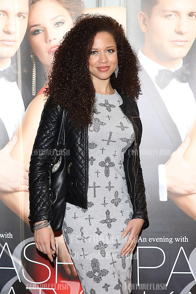 Natalie Gumede at the Katya and Pasha West End show - Gala night held at the Lyric Theatre, London. 07/04/2014 Picture by: Henry Harris / Featureflash