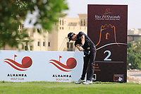 Sean Crocker (USA) in action during round 3, Ras Al Khaimah Challenge Tour Grand Final played at Al Hamra Golf Club, Ras Al Khaimah, UAE. 02/11/2018<br /> Picture: Golffile | Phil Inglis<br /> <br /> All photo usage must carry mandatory copyright credit (&copy; Golffile | Phil Inglis)
