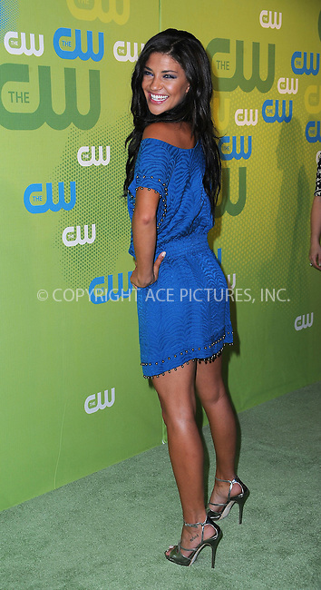 WWW.ACEPIXS.COM . . . . . ....May 21 2009, New York City....Actress Jessica Szohr arriving at the 2009 The CW Network UpFront at Madison Square Garden on May 21, 2009 in New York City.....Please byline: KRISTIN CALLAHAN - ACEPIXS.COM.. . . . . . ..Ace Pictures, Inc:  ..tel: (212) 243 8787 or (646) 769 0430..e-mail: info@acepixs.com..web: http://www.acepixs.com
