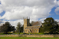 Kingham village church, St Andrews, The Cotswolds, United Kingdom