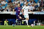 Supercopa de Espa&ntilde;a - Vuelta<br /> R. Madrid vs FC Barcelona: 2-0.<br /> Ivan Rakitic vs Karim Benzema.