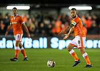 Blackpool's Jay Spearing <br /> <br /> Photographer Andrew Kearns/CameraSport<br /> <br /> The Emirates FA Cup Second Round - Solihull Moors v Blackpool - Friday 30th November 2018 - Damson Park - Solihull<br />  <br /> World Copyright © 2018 CameraSport. All rights reserved. 43 Linden Ave. Countesthorpe. Leicester. England. LE8 5PG - Tel: +44 (0) 116 277 4147 - admin@camerasport.com - www.camerasport.com