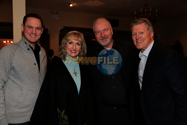 Phillip Nitz Amy Nits Nick parks and David Nitz at the Solid Rock Church celebrating 20th anniversary in the Boyne Valey Hotel.<br />  Picture: Fran Caffrey www.newsfile.ie