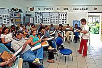 Encontro de professores em Boa Vista. Roraima. 2000. Foto de Juca Martins.