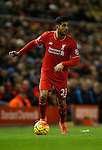 Emre Can of Liverpool in a action - English Premier League - Liverpool vs Manchester City - Anfield Stadium - Liverpool - England - 3rd March 2016 - Picture Simon Bellis/Sportimage