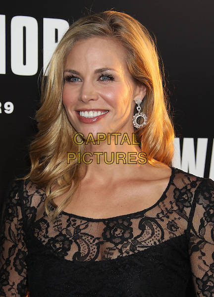 "Brooke Burns.""Warrior"" World Premiere held at Arclight Cinemas, Hollywood, California, USA..September 6th, 2011.headshot portrait black lace  .CAP/ADM/RE.©Russ Elliot/AdMedia/Capital Pictures."