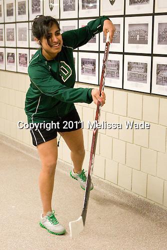 Sasha Nanji (Dartmouth - 24) - The visiting Dartmouth College Big Green defeated the Harvard University Crimson 3-2 on Wednesday, November 23, 2011, at Bright Hockey Center in Cambridge, Massachusetts.