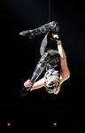 26.02.2016 Cirque Du Soleil performing AMALUNA at The Royal Albert Hall London UK Storm Virginia Canovas