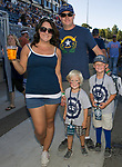 The Glenn family during the Nevada vs Weber State football game in Reno, Nevada on Saturday, Sept. 14, 2019.