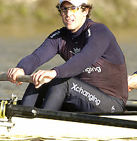 2005 Varsity Boat Race - Pre race fixtures - Putney, London., ENGLAND;.OUBC,   2. Barney Williams. .Photo  Peter Spurrier. .email images@intersport-images...[Mandatory Credit Peter Spurrier/ Intersport Images] Varsity:Boat Race Rowing Course: River Thames, Championship course, Putney to Mortlake 4.25 Miles