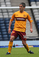 Keith Lasley in midfield