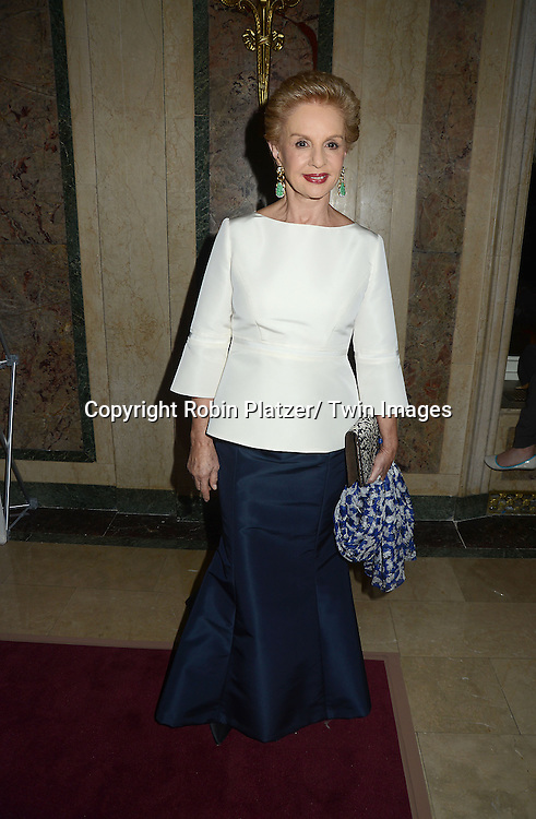 Carolina Herrera attends the 16th Annual ASPCA Bergh Ball on April 11, 2013 at The Plaza Hotel in New York City.