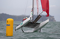 2019 Hyundai 49er 49erFX Nacra 17 World Championship Sailing Dec 8th