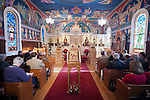Christmas Liturgy Service, St. Sava Serbian Orthodox Church, Jackson, Calif.