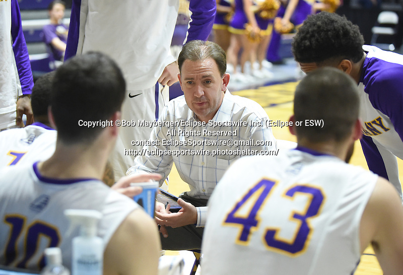 Albany defeats Niagara 65-56 on December 23, 2015 at SEFCU Arena in Albany, New York.  (Bob Mayberger/Eclipse Sportswire)