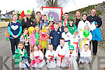Members of Killarney Martial Arts Academy who participated in the Killarney St Patricks day parade on Monday