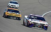 #11: Denny Hamlin, Joe Gibbs Racing, Toyota Camry FedEx Office and #8: Zane Smith, JR Motorsports, Chevrolet Camaro The Cosmopolitan of Las Vegas