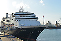 FORT LAUDERDALE, FL - April 02: Rotterdam cruise ships arrive at Port Everglade on April 02, 2020 in Fort lauderdale, Florida. The Holland America cruise line ship had been at sea for the past 19 days after South American ports denied their entry due to the Coronavirus outbreak. Reports indicated that two of four people that died aboard the Zaandam had tested positive for COVID-19. Those passengers that are fit for travel in accordance with guidelines from the U.S. Centers for Disease Control will be permitted to disembark.  ters for Disease Control will be permitted to disembark.   ( Photo by Johnny Louis / jlnphotography.com )