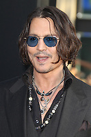 Johnny Depp at the premiere of Warner Bros. Pictures' 'Dark Shadows' at Grauman's Chinese Theatre on May 7, 2012 in Hollywood, California. © mpi26/ MediaPunch Inc.